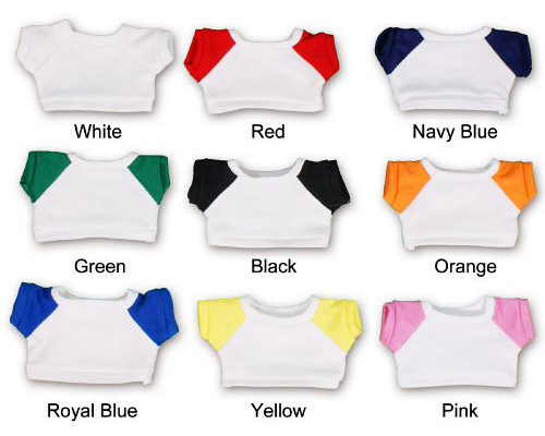 Choose a shirt with a white background for multi-colored logos.